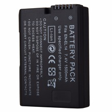 1500mAh EN-EL14 EN-EL14a Battery Pack for Nikon P7200 P7700 P7100 D5500 D5300 D5200 D3200 D3300 D5100 D3100