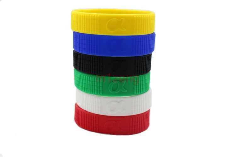 色フォーカスゴムサークルリングシリコンブレスレット保護 sony a7 a9 a7r ため a7m2 a77 a99 A6000 A5100 HX50 rx100 a6500 カメラ