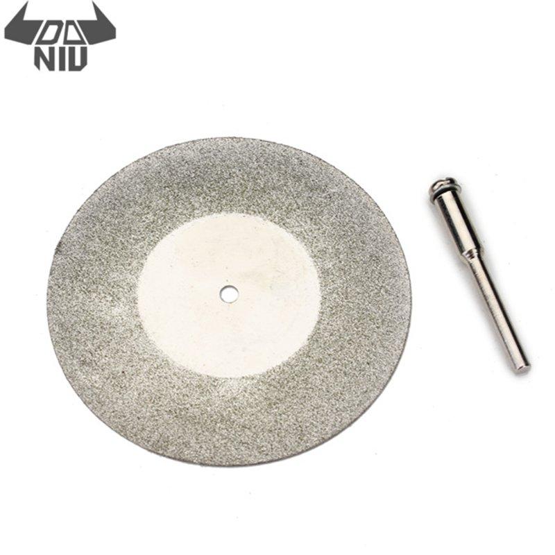 DANIU 1Pcs 60mm Diamond Grinding Wheel Metal Cutting Disc For Dremel Rotary Tool Saw Blade Cutter Tool High Quality