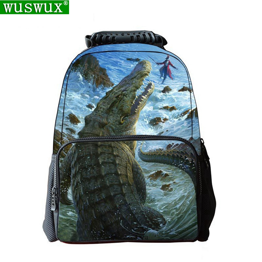 New Fashion Felt Animal School Bag 3D Printing Children Backpack Personality School Backpack Large Capacity Student Backpacks