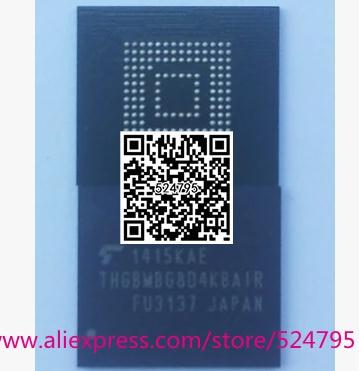 2 unids/lote thgbmbg8d4kbair para lg g3 d855 emmc memoria flash nand 32 gb