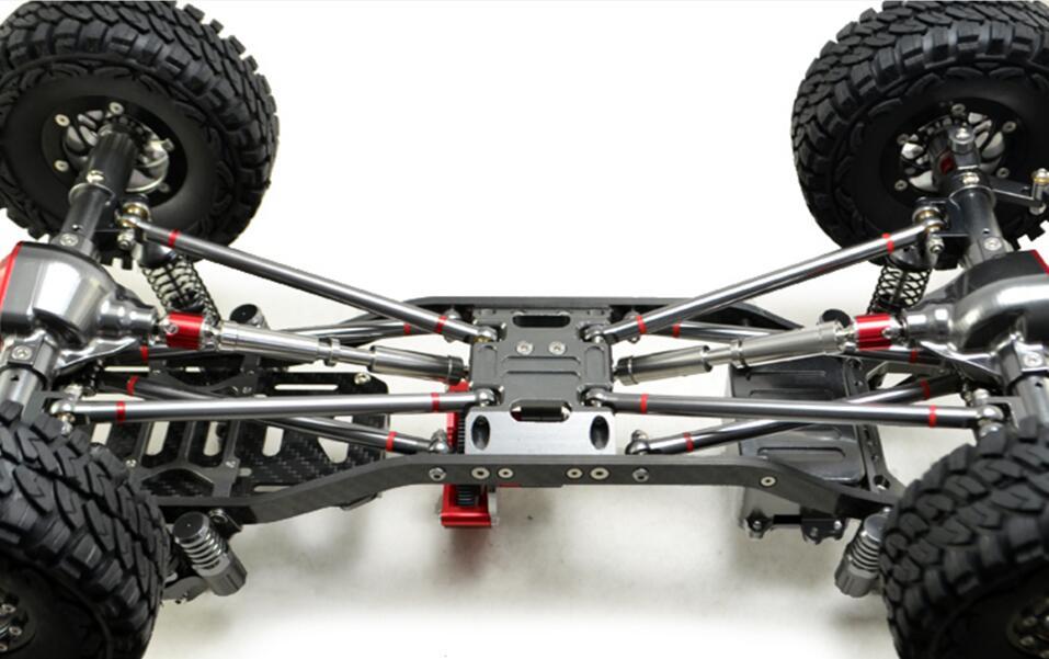 Comprar ahora CNC Metal de aluminio y Marco de carbono para RC coche ...