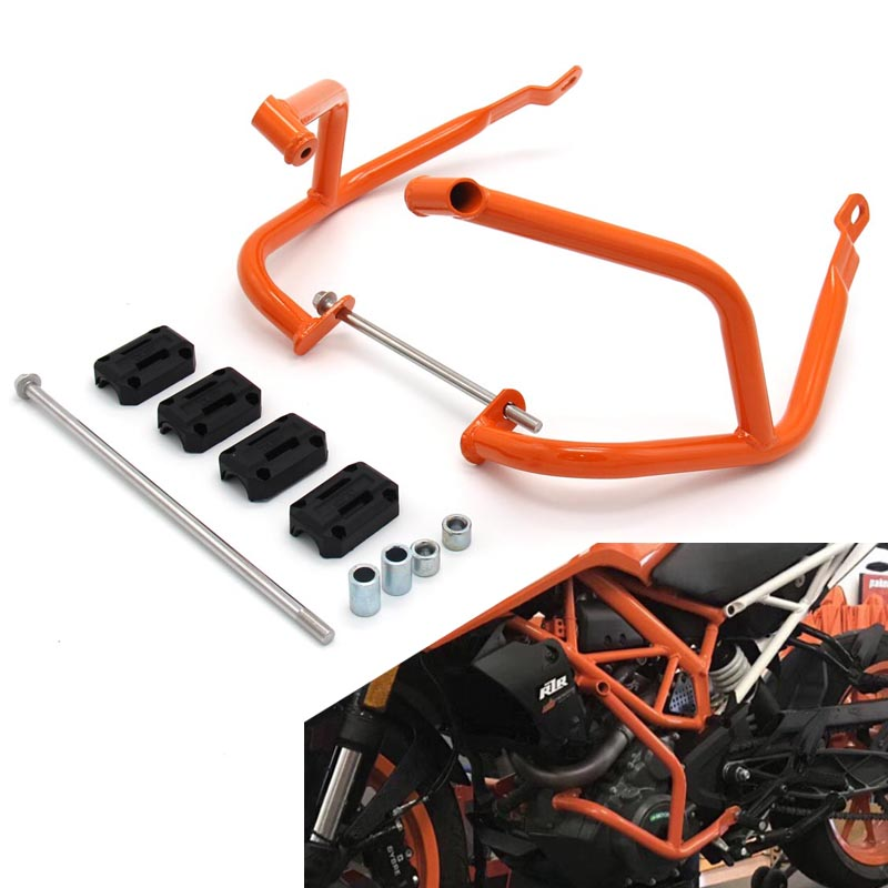 Motorcycle Left/ Right Bumpers Front Buffer Crash Bars Knees Legs Protector Frame Engine Guards For Ktm Duke 390 250 2018 Bumpers & Chassis Automobiles & Motorcycles