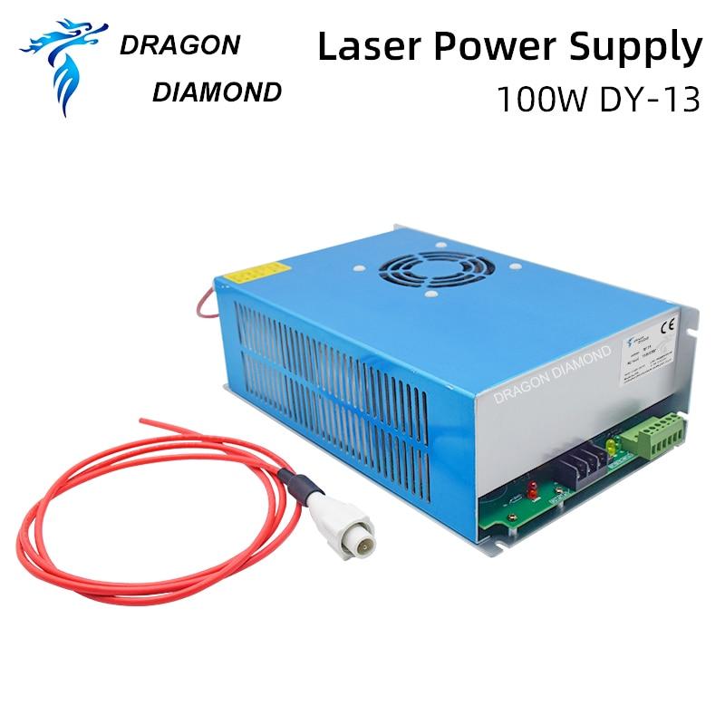 منبع تغذیه با لیزر Dragon Diamond DY Series Co2 برای لیزر لوله RECI Z2 / W2 / S2 مورد استفاده برای حکاکی دستگاه برش