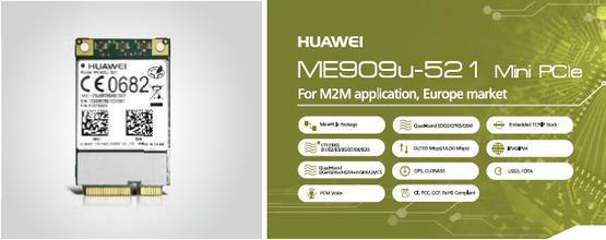 Image 3 - Unlocked Huawei ME909u 521 FDD LTE Mini pcie 4G  Antenna connector 100% New&Original card Support GPS Voice Message stock-in Integrated Circuits from Electronic Components & Supplies