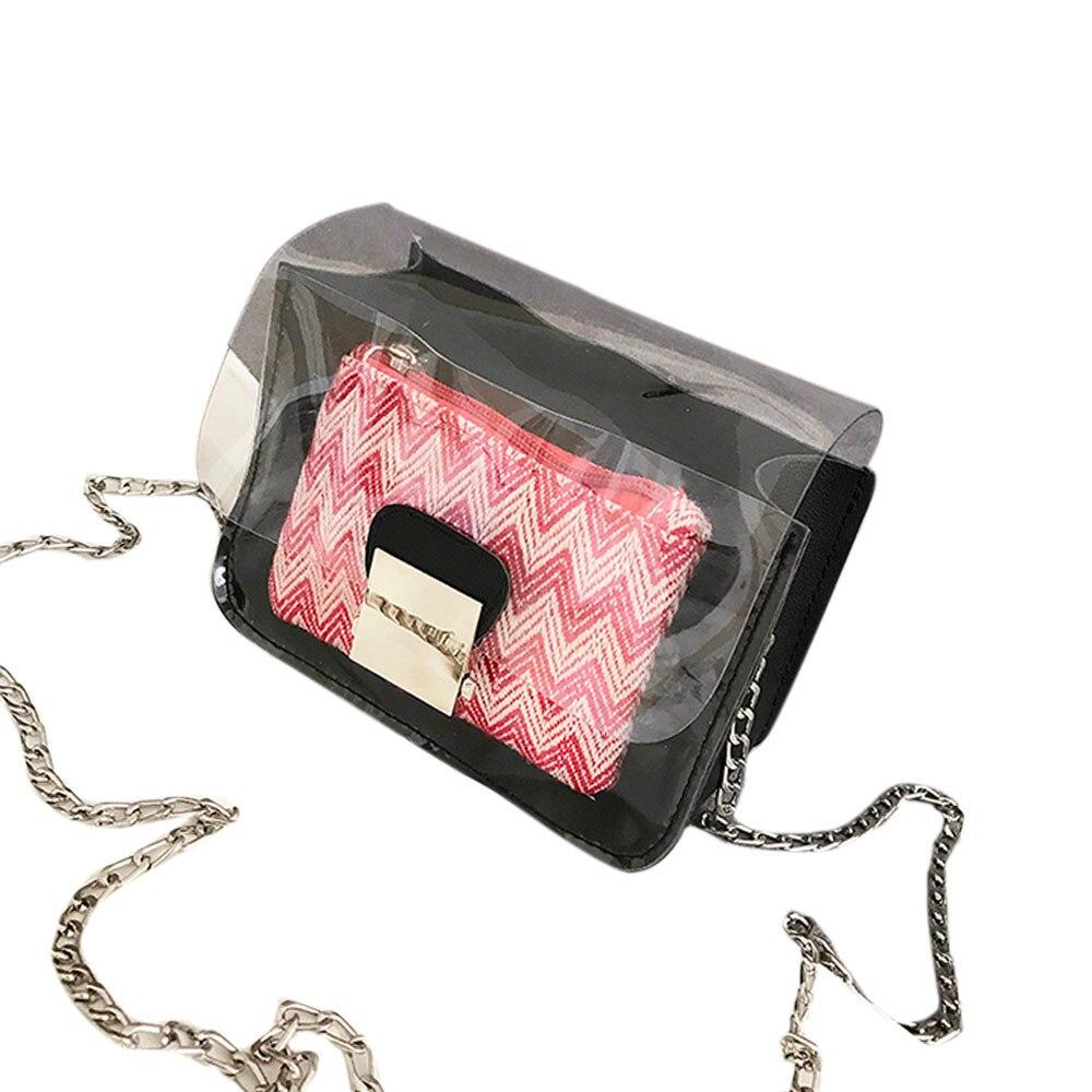 Laser Transparent Jelly Bag Women Handbag Designer Simple Luxury Tote Bags Lady Portable Shoulder Bags