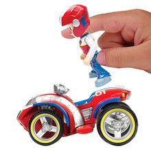 Paw Patrol toys Ryders Rescue ATV Vehicle and Figure figure toy Puppy Dog Car patrulla Patrulla Kids Toys