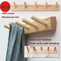 Special Modern minimalist fashion wall hangers,coat racks of Fraxinus mandshurica solid wood furniture products,wooden wardrobe