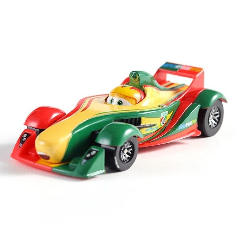 Disney Pixar машина 3 Молния Маккуин гоночный семейный 39 Джексон шторм Рамирез 1:55 литой металлический сплав детская Игрушечная машина - Цвет: 4