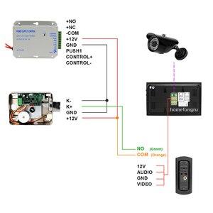 Image 5 - HomeFong Video Doorbell Home Intercom Video Door Phone 7 Inch Monitor 1200TVL Doorbell Camera 32G Memory Card Video Intercom Kit