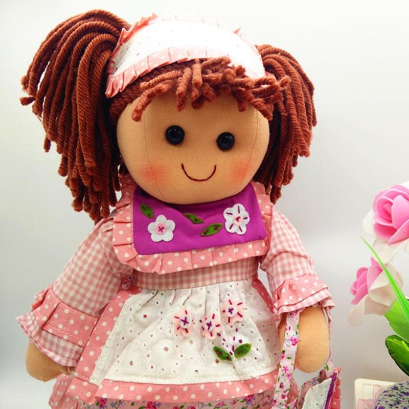 Smafes utstoppa rag dukker leke for jenter 17 tommers mykt baby født - Dukker og tilbehør - Bilde 6