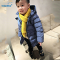 New Children Winter Coat 2017 Baby Boys Fashion Solid Cotton Outwear Clothes Kids Boomer Thick Jacket Padded Clothing T2811