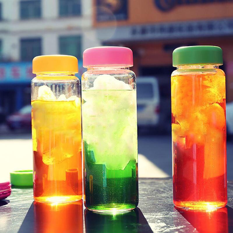 500ML Fruit Lemon Juice Drinking Bottle Infuser Clear Plastic Health Milk Water Drinkware Outdoor Sports Kitchen Dining Bar