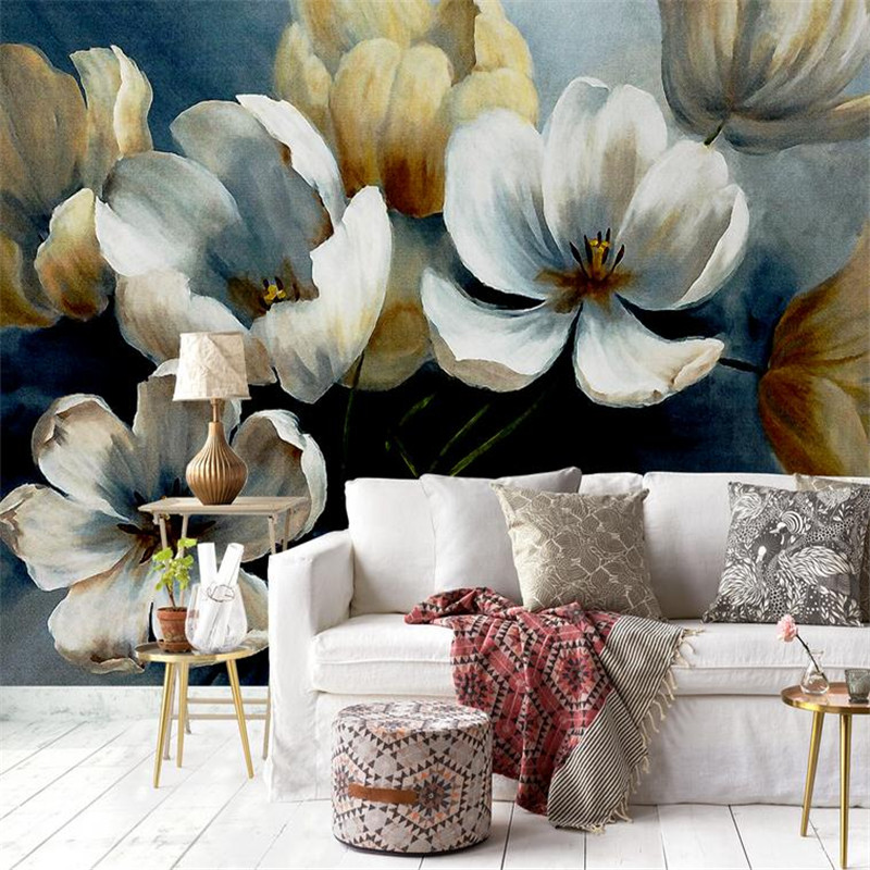 3d modern custom photo wallpaper large 3d hands painting classical peony wall mural living room bedroom background wallpaper modern simple romantic snow large mural wallpaper for living room bedroom wallpaper painting tv backdrop 3d wallpaper