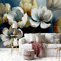Wallpapers Youman 3d modern custom photo wallpaper large hands painting classical peony wall mural bedroom background wallpaper