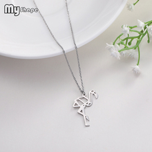 My Shape unisex animal pattern decorative stainless steel jewelry personalized necklace