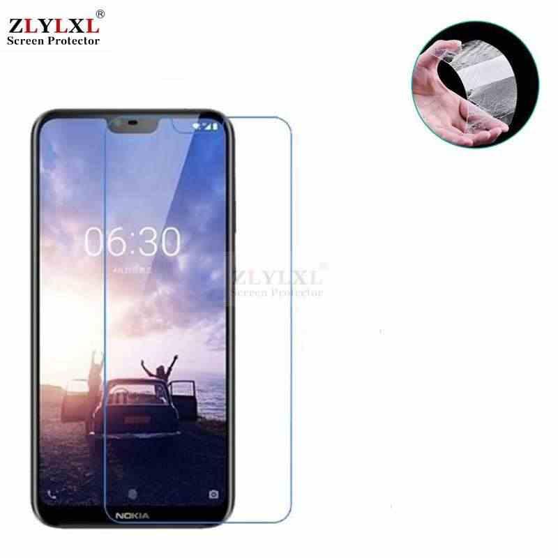 Osłona ekranu ze szkła hartowanego dla Nokia 8X5X6 2018 640 7 plus