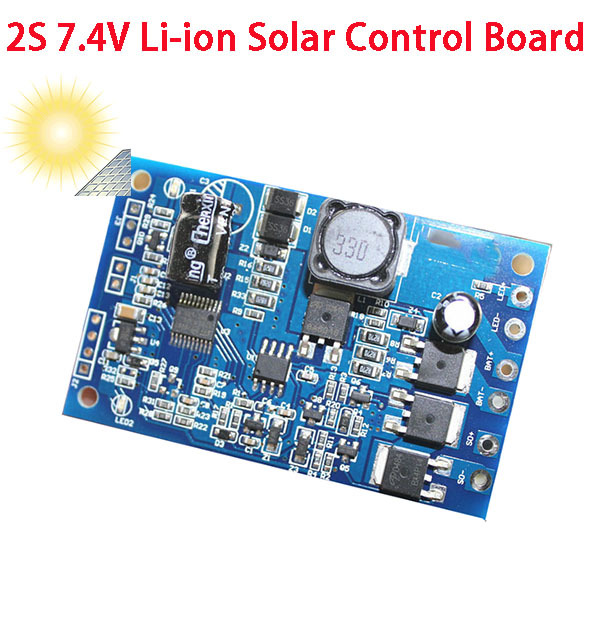 7 4v li ion solar protection board diy solar light control board diy