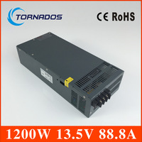 Led driver 1200W 13.5V Single Output ac 220v to dc 13.5v Switching power supply unit for LED Strip light