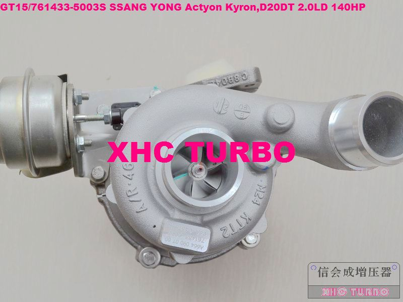 NIEUW GT15 / 761433-5003S A6640900880 Turbo Turbo voor SSANG YONG - Auto-onderdelen
