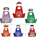 4 set/lot  PAW-Cape and Mask Set Patrol Costume kids birthday party favor Halloween kids cosplay dog pc cape patrulha canina