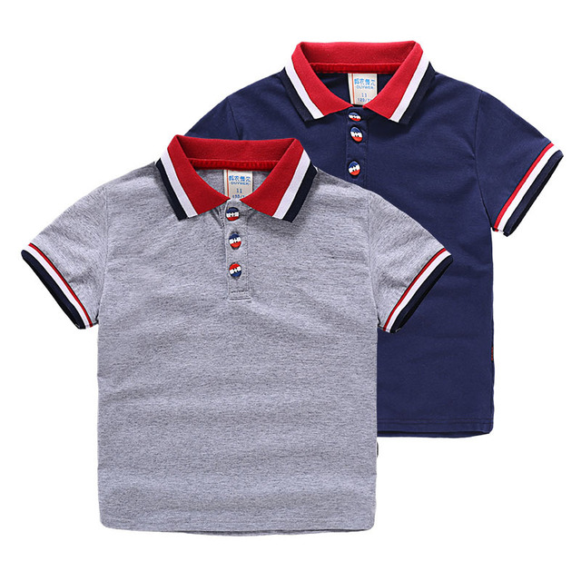 d49956f1d2 US $21.5 |Brand Hot Boys Polo Shirt Short Sleeve 2018 Summer New Arrival  Boys Clothes Kids Polo Size 2 6Y Children Clothing Boys Polos on ...