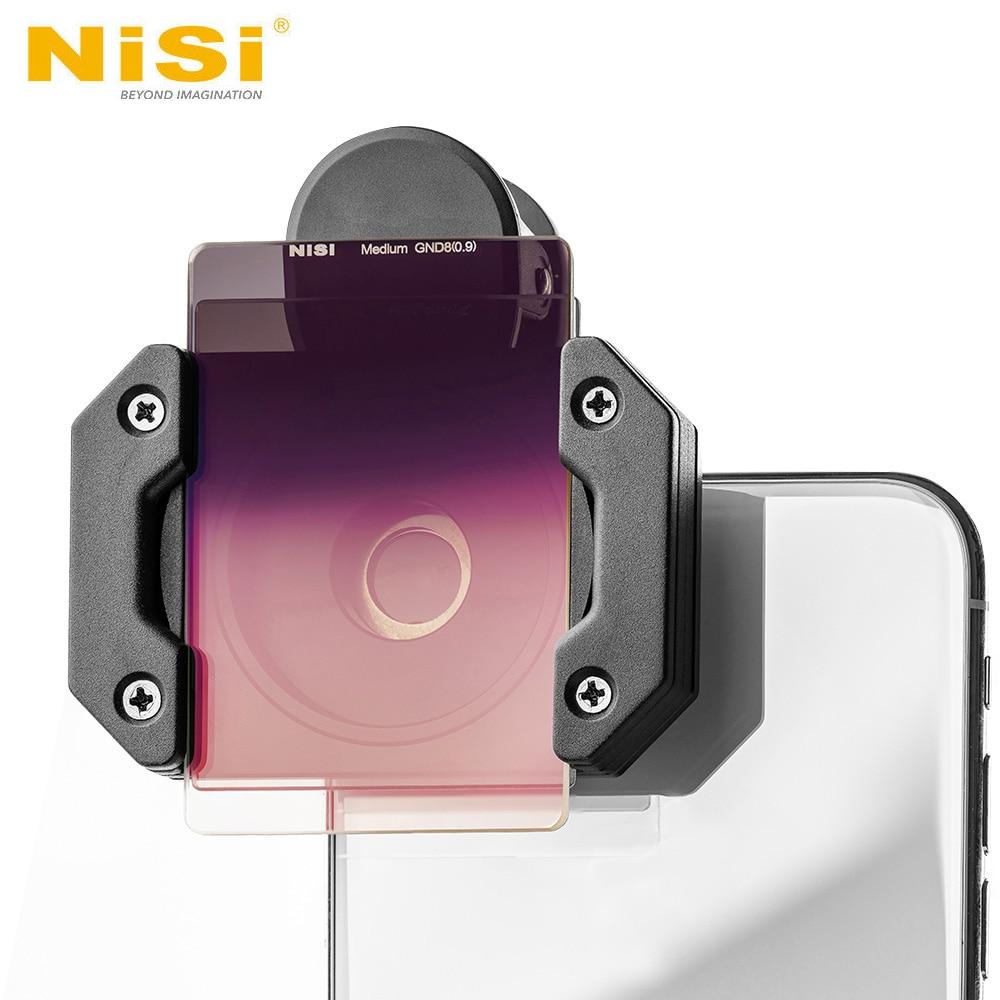 Nisi Prosories P1スマートフォンレンズフィルターホルダーキット(フィルターホルダー+中程度のGND +偏光子)iPhone X 8 S8風景写真スマートフォン用