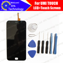 Umi Touch/Touch X Display LCD + Touch Screen Digitizer Originale Al 100% Tested LCD Pannello di Vetro Dello Schermo Per Londra + strumenti