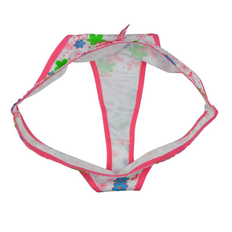 LOBBPAJA Brand Lot 6 pcs Womens Sexy G-strings Thongs Women Underwear Cotton Panties Ladies Girls T-Back Tangas for Women