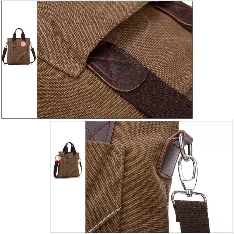Plátno Aktovka Multifunkční Jedno rameno Ramena Crossbody tašky - Aktovky - Fotografie 5
