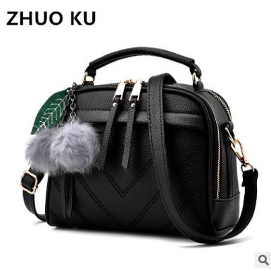 New Listing PU Leather Handbag Fashion Shoulder Bag Lady Leisure Messenger Bag Brand Women Messenger Bag for Wome Bags