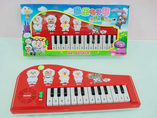 Music keyboard pre-teaching learning machine baby toy puzzle toy