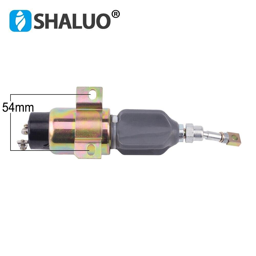 24 V groupe électrogène Diesel arrêt solénoïde par défaut 24 V 12 v/24 v en option - 2