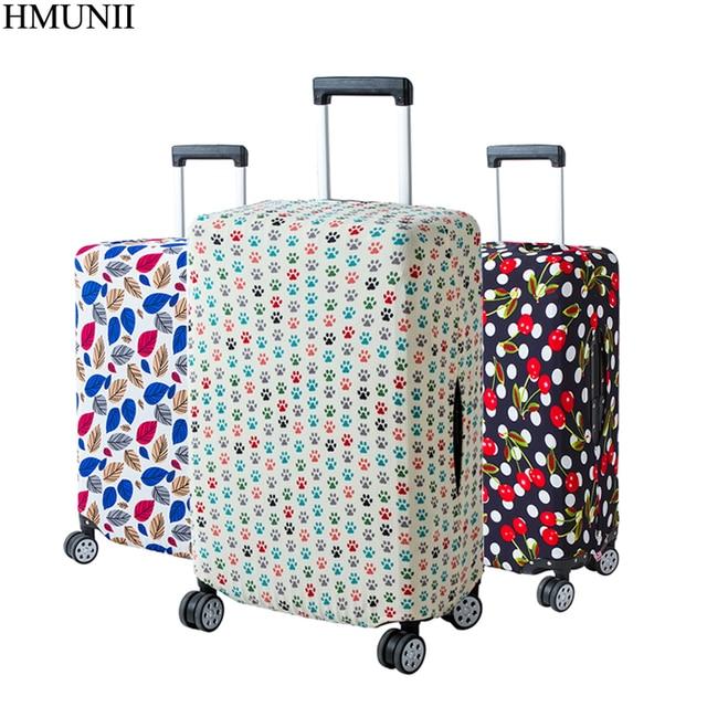 3d049b288 HMUNII funda protectora colorida para equipaje de 18 30 pulgadas maleta de ruedas  elástica bolsas de
