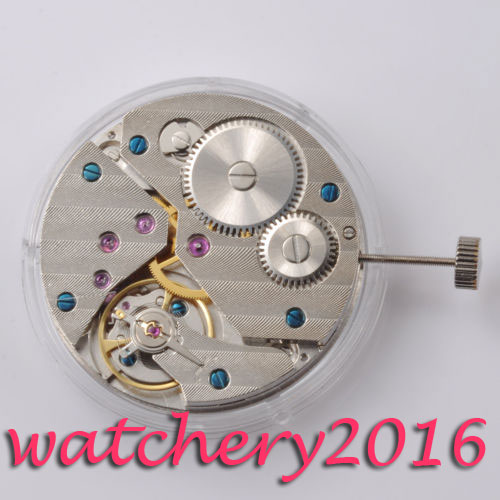 Vintage 17 Jewels 6497 <font><b>ST3600</b></font> Mechanical Hand Winding Watch Movement image