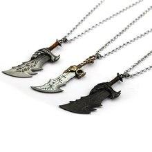 1393685c2487 Juego caliente dios de la guerra armas cuchillas del caos joyería  declaración collar Kratos colgantes gargantilla hombres encant.