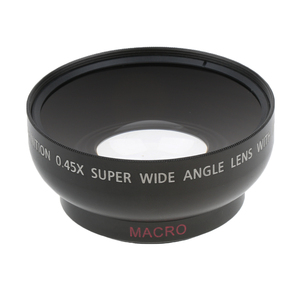 Image 1 - 43 مللي متر 0.45x زاوية واسعة عدسة مع ماكرو لكانون نيكون سوني بينتاكس 52 مللي متر موضوع DSLR كاميرا