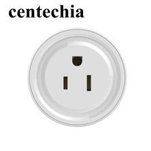 Centechia Wifi Socket Smart Power Socket Plug Voice Remote Control Smart Wifi Plug Timing Switch for iOS Android US Plug