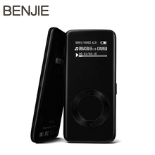 Luxury BENJIE K3 8G mp3 music player lossless HiFi MP3 player mini Portable audio player alloy MP3 FM radio Ebook voice recorder