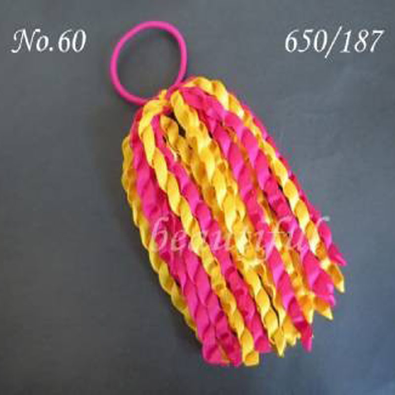 18 pcs for Girl Hair Accessories 6 B- Braid Ponytail Streamers Elastic ...