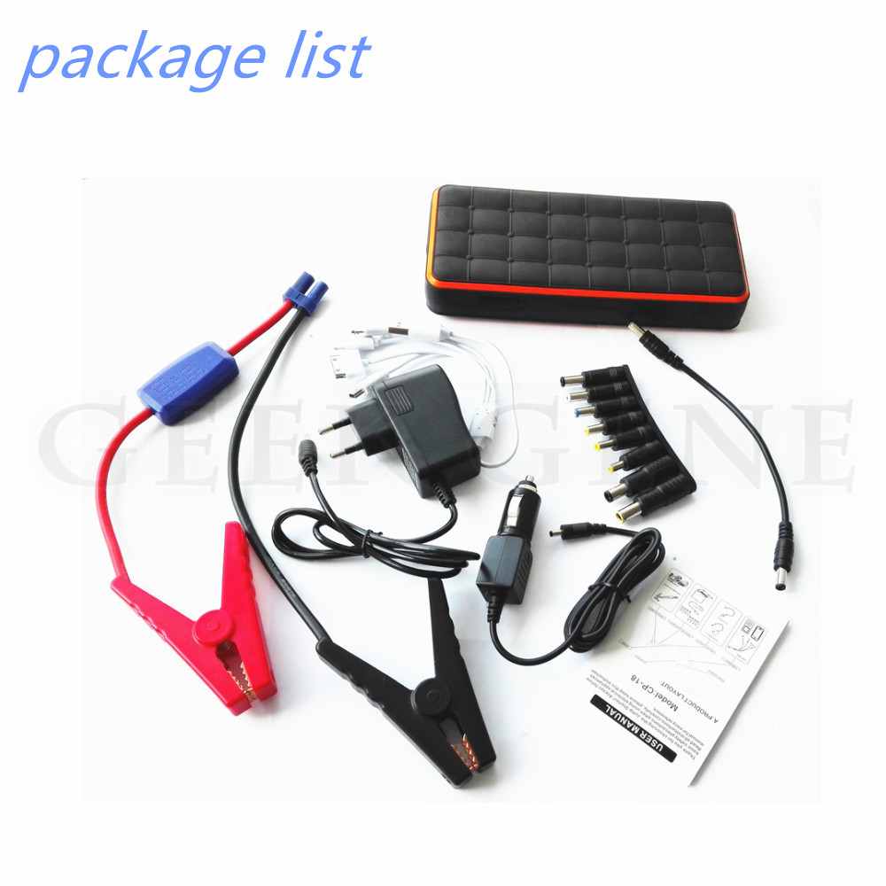 New Top Jump Starter for Car engine Power bank 12V charger for car battery petrol Diesel starting device car charger Waterproof for petrol 6 0l car jump starter 30000mah 12v battery charger for laptop power bank with led light