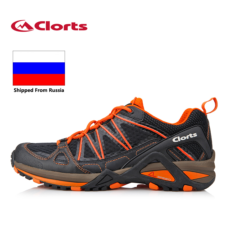 Россия локальная Clorts легкие кроссовки дышащий анти-скользкие спортивные кроссовки 3F015A