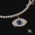 Nova Moda Jóias Charme 925 Pulseira De Prata Esterlina Para Mulheres Jóias Evil Eye Azul Ajustável Pulseira Turquia Qualidade