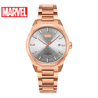 Marvel Avengers Unisex Men Women Automatic Waterproof Watch Luxury Steel Leather Mechanical Watches Doctor Strange Disney Clocks