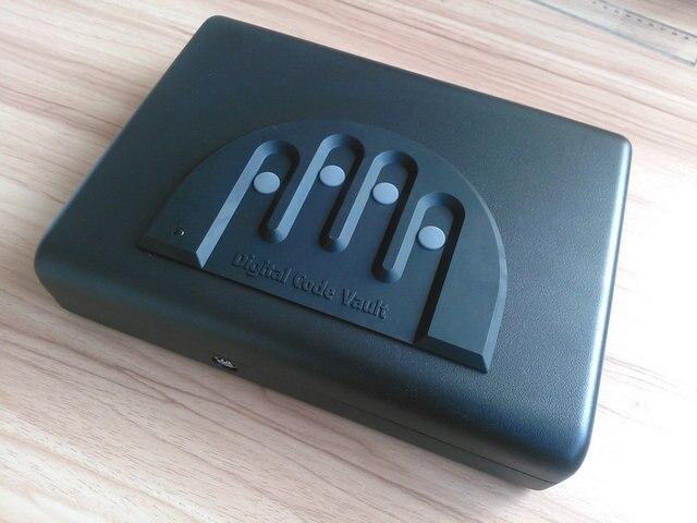 Mini Password Lock Box Jewelry Box Gun Box Files Car Safes Os500c