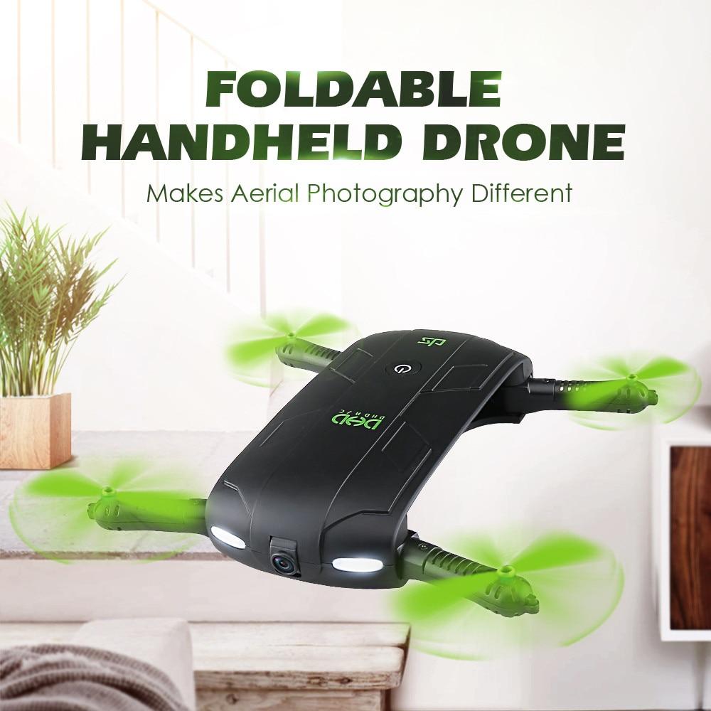 купить JJRC DHD D5 Foldable 30W WiFi FPV Camera Altitude Hold Phone Control Quadcopter mini folding four-axis aircraft F21906 недорого