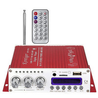 V10 Bluetooth Car Amplifier V4 0 Hi Fi Stereo Super Bass Audio Power USB Amplifier With