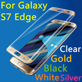 "New S7 Edge 9H 3D Full Cover Tempered Glass For Samsung Galaxy S7 Edge G9350 5.5"" Toughened LCD Explosion Proof Screen Protector"