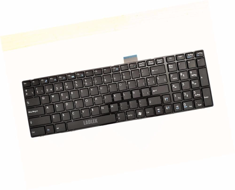 Russian keyboard for MSI GP60 2QE//GP60 2PE// GP60 2PE//GP70 2QE//GP70 2PE Leopard