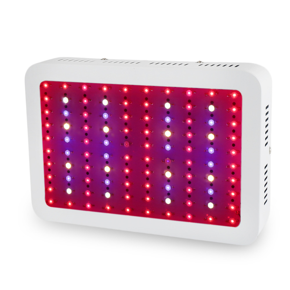 Double Chips 1000W  LED Grow light Full Spectrum Led Plant Growth Lamp Red/Blue/IR/UV  for hydroponics and indoor plant growing full spectrum 600w led grow light double chips red blue white uv ir ac85 265v led plant lamps best for growing and flowering